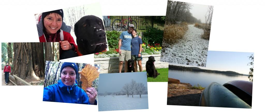Collage of Gisele pics