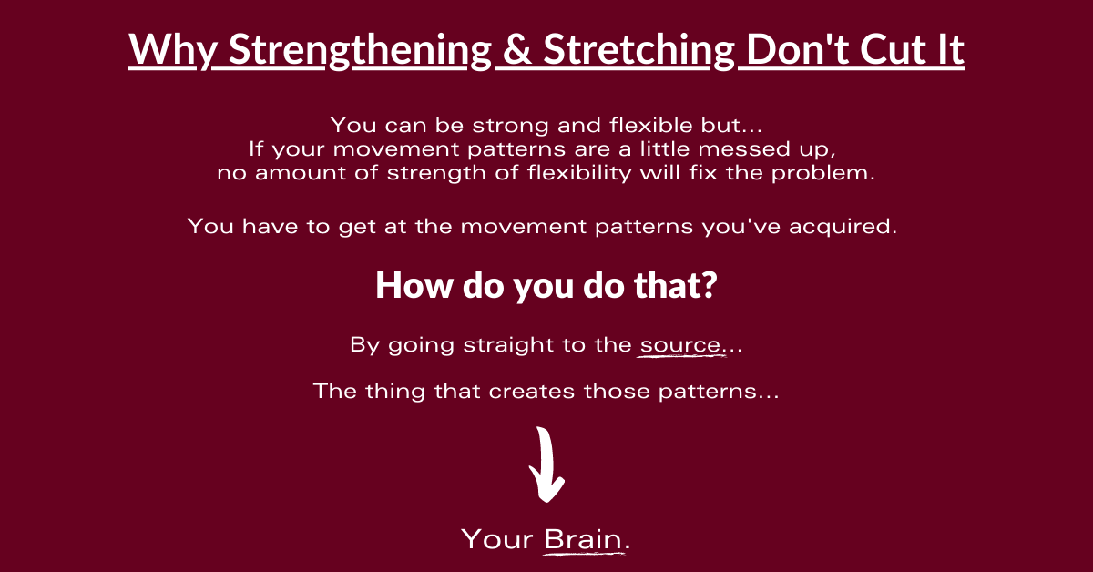 Why Strengthening and Stretching Don't Cut It