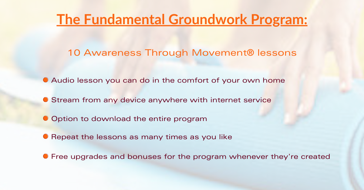 What's in the fundamental groundwork program