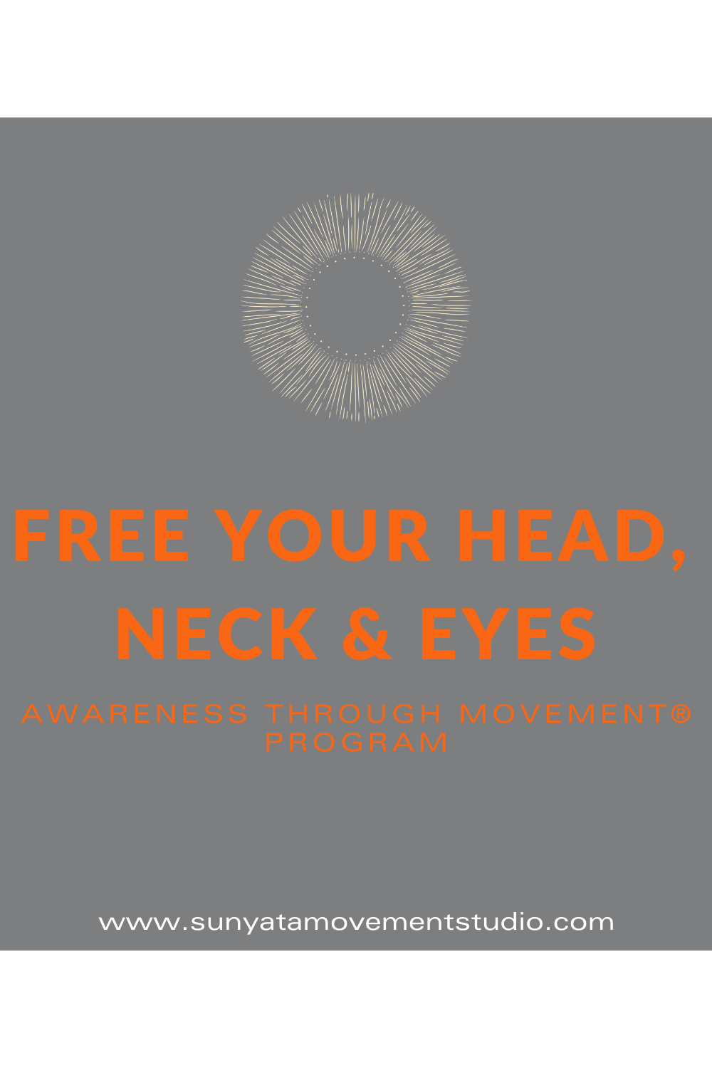 Free Your Head Neck Eyes Landing Page