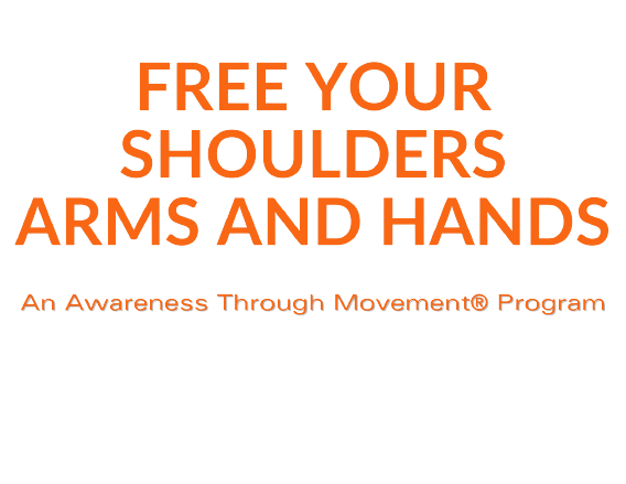Free Your Shoulders Arms Hands Text Logo